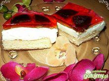 Puszyste ciasto z galaretką