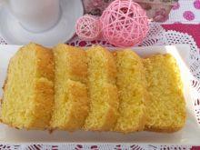 Puszyste cytrynowe ciasto