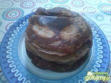 Puszyste czekoladowe pancakesy