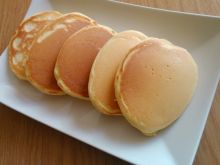 Puszyste pancakes śniadaniowe
