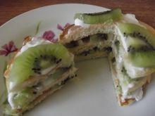 Puszyste pancakes z kiwi