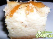 Puszysty sernik z mandarynką i galaretką