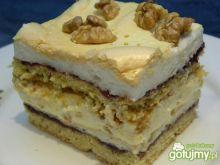 Pychotka - kruche ciasto z bezą