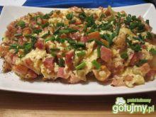 Pyszna jajecznica ze świeżymi rydzami