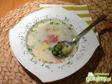 Pyszna zupa z groszkiem