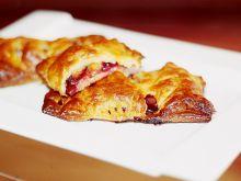 Pyszne ciasteczka  francuskie ze śliwkami