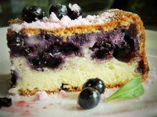 Pyszne ciasto jagodowe - ucierane
