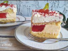 Pyszne ciasto na biszkopcie