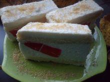 Pyszne ciasto śmietanowe
