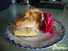 Pyszne ciasto z kisielem i agrestem