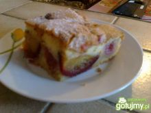 pyszne i łatwe ciasto ze śliwką
