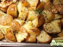 Pyszne pieczone ziemniaczki.