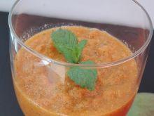 Pyszne smoothie miętowe z mango