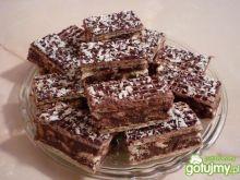 Pyszny blok kakaowy z bakaliami