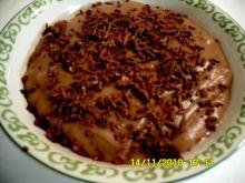 Pyszny budyń czekoladowy z michałkami:)