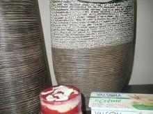 Pyszny deser z sojowym kremem waniliowym