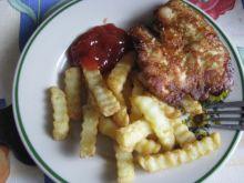 Pyszny obiad z mięsem