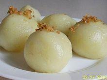 Pyzy z gotowanych ziemniaków