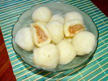 Pyzy z gotowanych ziemniaków z mięsem