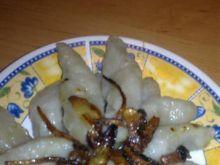 Pyzy ziemniaczane z cebulką
