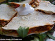 Quasadilla z chili na łowicką nutę