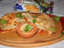 Quesadilla z wołowiną