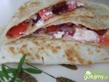 Quesadillas z pomidorową salsą