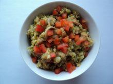 Quinoa z kurczakiem i warzywami