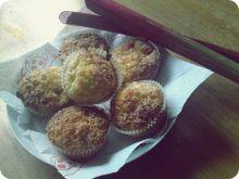 Rabarbarowe muffiny