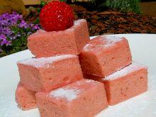 Rabarbarowo-truskawkowa pianka a`la jo-jo