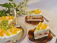 Rabarbarowy deser