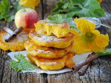 Racuchy dyniowe z jabłkami