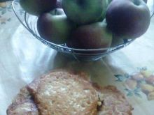 Racuchy razowe z jabłkami