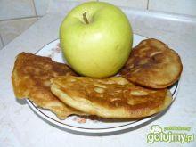 Racuchy z jabłkami.