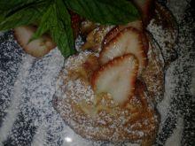 Racuchy z truskawkami