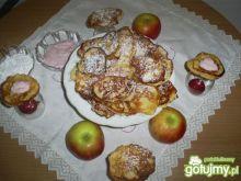 Racuszki z jabłkiem na drożdżach instant