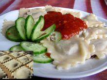 Rawioli z pieczarkami w sosie Łowicz