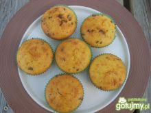 Razowe muffiny cytrynowo – czekoladowe
