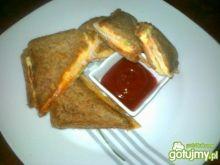Razowe pikantne tosty