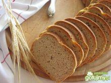Razowy chleb z płatkami owsianymi