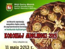 Regulamin konkursu Korowaj Mielnicki 2013