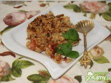 Rhubarb crumble wg Buni