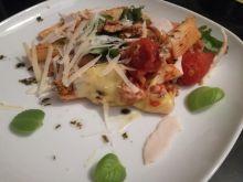 Rigatoni trochę po bolońsku z orzechami włoskimi