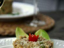 Risotto bianco z zielonym groszkiem