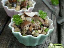 Risotto leśniczego z grzybami