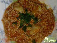 Risotto rybno-pomidorowe
