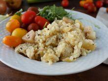 Risotto z gruszką i serem