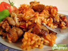 Risotto z indykiem z frytownicy ActiFry