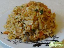 Risotto z kurczakiem i brązowym ryżem