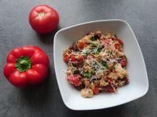 Risotto z kurczakiem i czerwoną fasolą